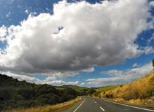 Roadtrip Nieuw Zeeland Stock Foto's