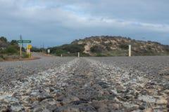Roadtrip till och med västra Australien arkivfoto