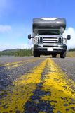 Roadtrip z motorhome w Indiańskim lecie Kanada Zdjęcia Stock