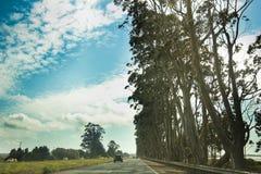 Roadtrip zu Kalifornien Stockfoto
