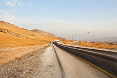 Roadtripping through Israel Stock Photo