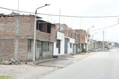 Roadway in arequipa Stock Photo