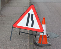 Roadwork sign Royalty Free Stock Photography