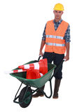 Roadworker Royalty Free Stock Images