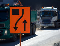 Roadworks Fotografia de Stock Royalty Free