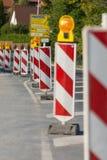 Roadworks Royalty Free Stock Photos