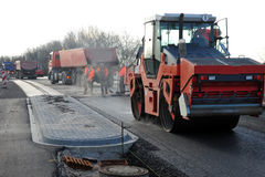 Roadworks Royalty Free Stock Images