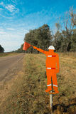 Roadworks sign Royalty Free Stock Photography