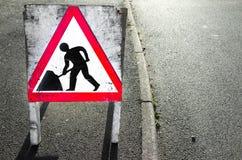 Roadworks Stock Photos