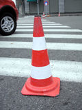 Roadworks / Traffic cone Stock Photography