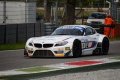 Michela Cerruti BMW Z4 Italian GT 2015 at Monza Royalty Free Stock Image