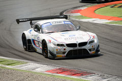 Roal Motorsport BMW Z4 GT3 Italian GT 2015 at Monza Royalty Free Stock Images