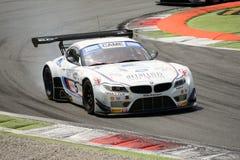 Roal MotorsportBMW Z4 GT3 italienare GT 2015 på Monza Royaltyfria Bilder