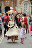 Roald Dahl Carnival Aylesbury, Buckinghamshire Fotografie Stock Libere da Diritti