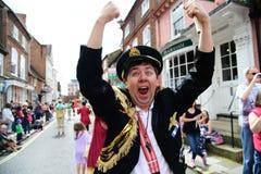 Roald Dahl Carnival Aylesbury, Buckinghamshire. Roald Dahl carnival parade in Aylesbury, Buckinghamshire, England Stock Photos