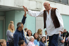 Roald Dahl karnawał w Aylesbury, Buckinghamshire Obrazy Stock