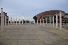 Roald Dahl Plass stock photo