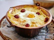 Roamanian traditional polenta mixture Stock Photography
