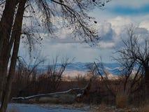 Roan скалы в расстоянии стоковое фото rf
