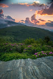 Roan Highlands sunset Royalty Free Stock Photo