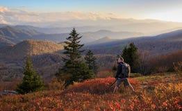 Roan Mountain NC Autumn Photographer Lizenzfreies Stockfoto