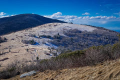 Roan Mountain Winter Hike 9 Image libre de droits