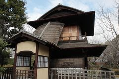 Roan Tea House in Japan Royalty Free Stock Photo