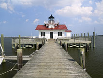 Roanok Marshes Light, Manteo, NC Stock Images