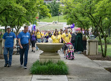 Roanoke -го март для младенцев, Вирджиния, США Стоковое Изображение RF