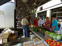 Roanoke City Farmers Market. stock photo