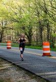 Female Runner in the 2021 Blue Ridge Marathon