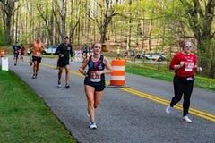 Runners at the 2021 Blue Ridge Marathon