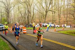 Group of Runners at the 2019 Blue Ridge Marathon