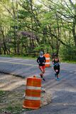 Two Runners, 2021 Blue Ridge Marathon