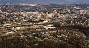 Roanoke dolina, Virginia, usa Zdjęcie Stock