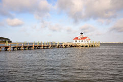 Roanoke Marshes Lighthouse Stock Photography