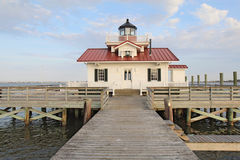 The Roanoke Marshes Lighthouse royalty free stock images