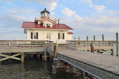 The Roanoke Marshes Lighthouse Stock Photos