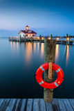 Roanoke Marshes Lighthouse Stock Images