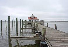 Roanoke Marshes Lighthouse Royalty Free Stock Image