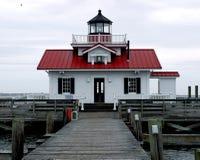 Roanoke Marshes Lighthouse stock images