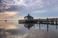 Roanoke Marshes Lighthouse North Carolina Royalty Free Stock Photography
