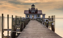 Roanoke Marshes Lighthouse Stock Photos
