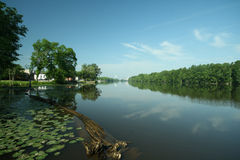 Roanoke River Royalty Free Stock Photos