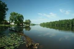 Roanoke River. Around Plymouth NC royalty free stock photos