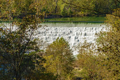 Roanoke River Dam Royalty Free Stock Photography
