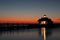 Roanoke-Sümpfe Lighthous Stockfoto