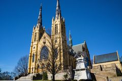 Saint Andrew Catholic Church. Roanoke, VA – February 27th: Beautiful Saint Andrew Catholic Church located in Roanoke, Virginia, USA. February 27th: 2018 stock images