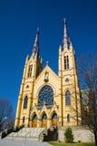 Saint Andrew Catholic Church - 3. Roanoke, VA – February 27th: Beautiful Saint Andrew Catholic Church located in Roanoke, Virginia, USA. February 27th stock image