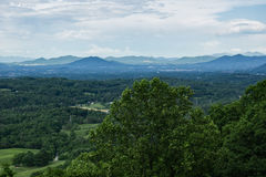 Roanoke Valley in the Springtime Royalty Free Stock Photography